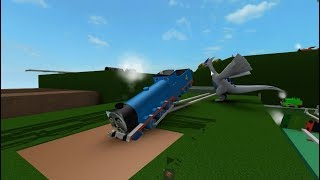 Roblox Thomas and Friends Crashes - Surprises Accidents will Happen
