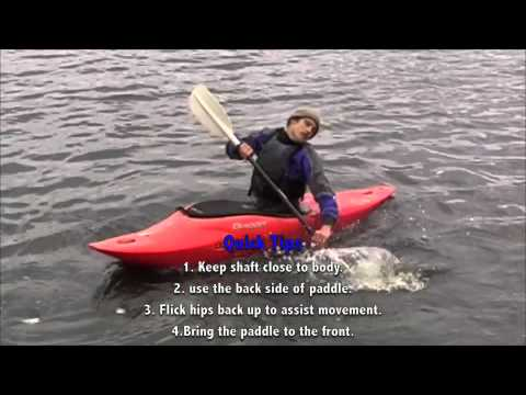 Learn to kayak instructional video with Josh and Kaine Bell
