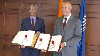 India Joins Three Key WIPO International Classification Treaties