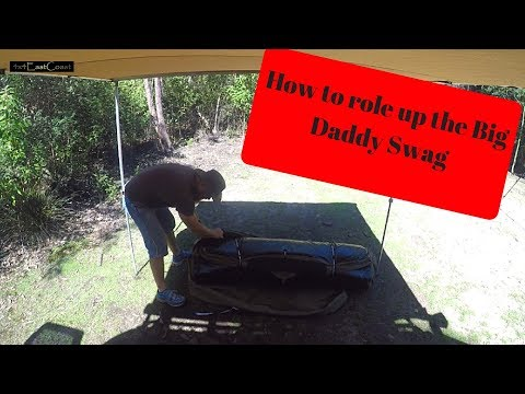 How to role up an Adventure Kings Big Daddy Deluxe Swag