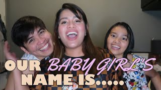 BABY GIRL NAME REVEAL | What did we name her? | DJ CHACHA