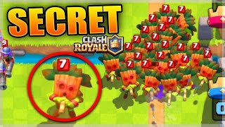 LES SECRETS DE LA NOUVELLE CARTE ! Clash Royale Gameplay Gobelin à Sarbacane !