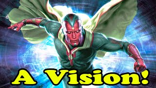 Marvel Super Easy Squad Online Vision fights Ultron- 720p HD