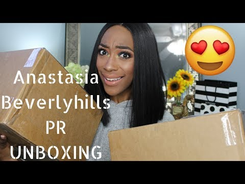 Anastasia Beverly Hills PR Unboxing | I CAN'T BELIEVE THIS!