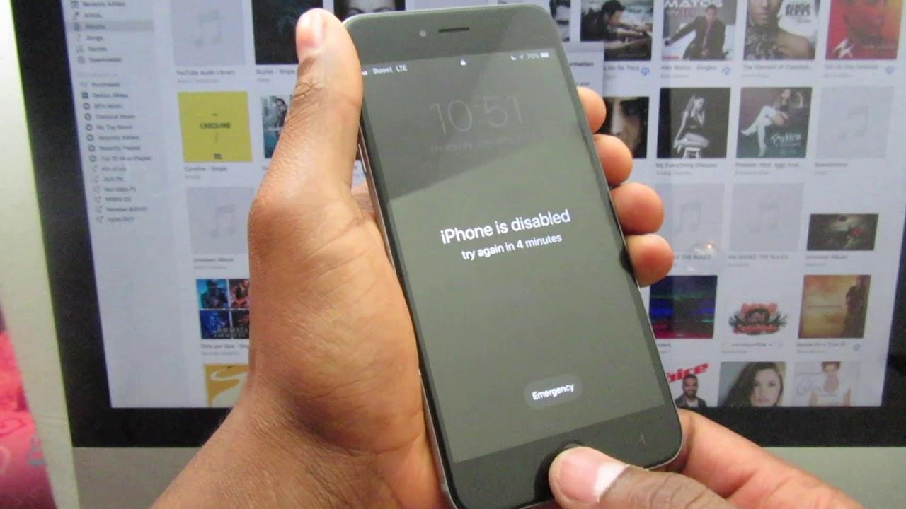 Como desbloquear iphone 5c pantalla bloqueada