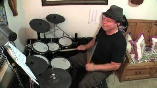 Drum cover of Hound Dog by Elvis. A twelve-bar blues written by Jer...