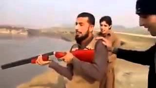 Pashto funny video clip   funny pathan firing     Video Dailymotion 3
