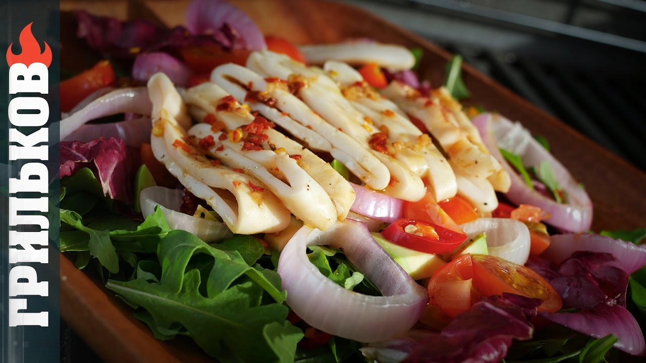 Острый Тайский салат