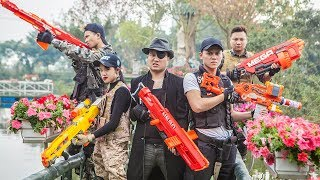 LTT Nerf War : SEAL X Warriors Nerf Guns Fight Criminal Group Dr Lee One Eye Revenge Lover