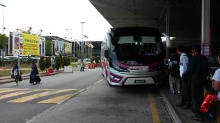 One of the last bus service from LCCT