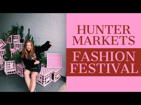 COME ALONG TO THE HUNTER MARKET WITH ME | VLOG