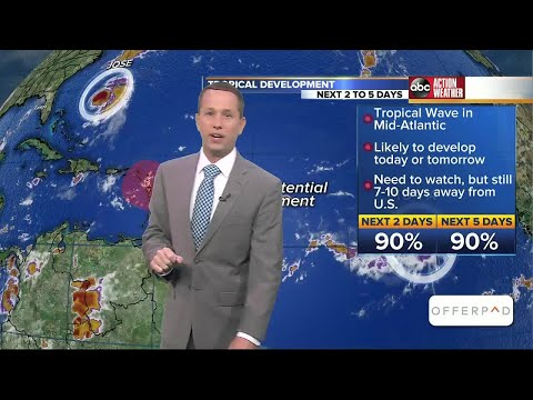 Tropics Forecast: What's coming up after Hurricane Irma