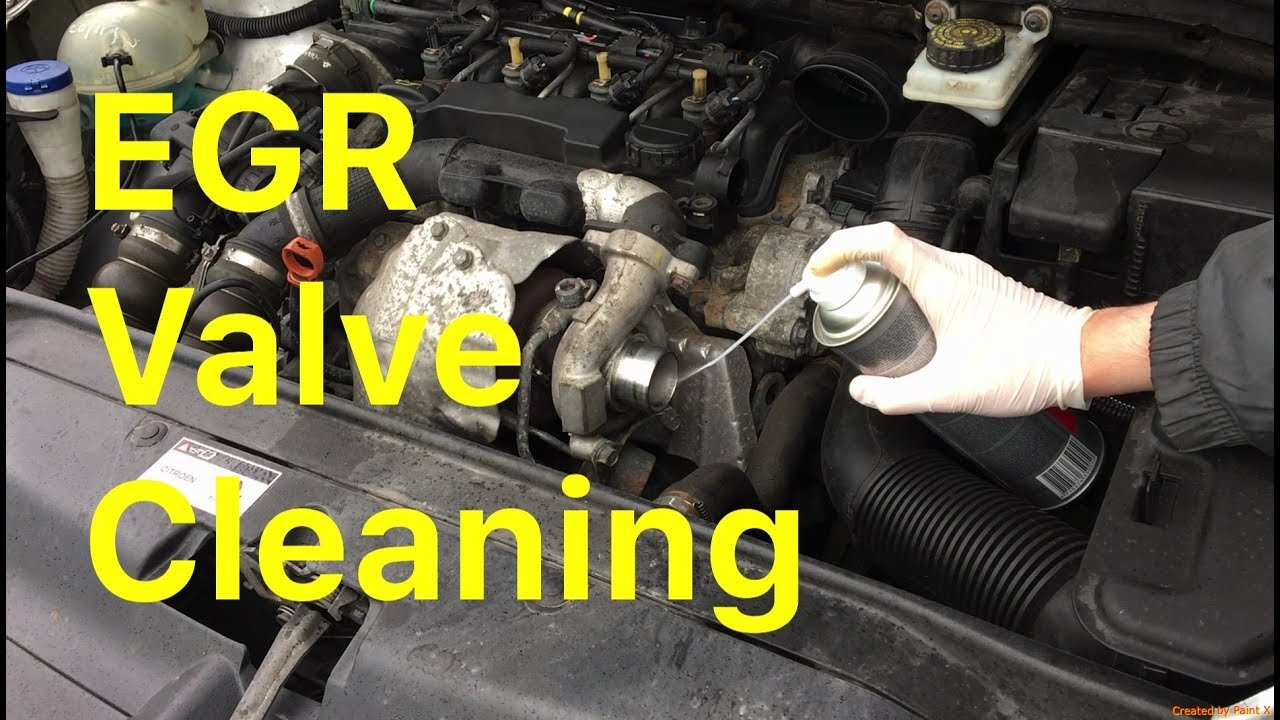 how to clean an egr valve without removing it [ 1280 x 720 Pixel ]