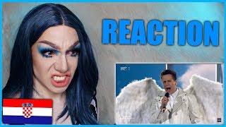 CROATIA - Roko - The Dream   Eurovision 2019 Reaction