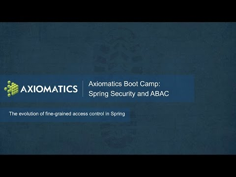 Boot Camp: Spring Security and ABAC