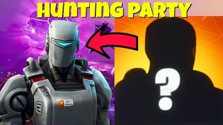 LEAKED NEW HUNTING PARTY SKINS IN FORTNITE