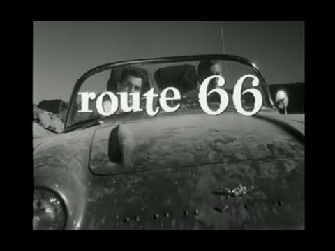 """D. K. Smith - October 7, 1960 CBS broadcasts the premiere episode of """"Route 66″"""