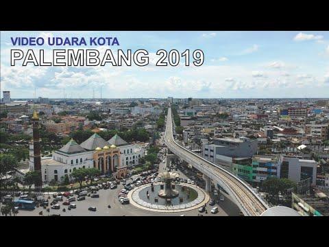 Video Udara Kota Palembang 2019, Kota Indah di Sumatera Selatan Sumsel