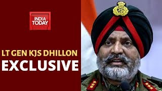 Lt Gen KJS Dhillon Speaks To India Today, Says Leadership Of Terrorist Groups Being Eliminated