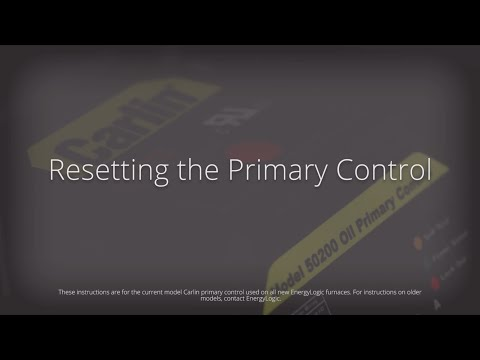 Resetting the Primary Control