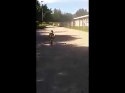 Motocross Bambini Ricky 4 Anni Sgommata