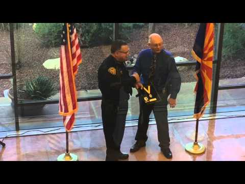 Tucson Police Retirement Ceremony 01/21/15