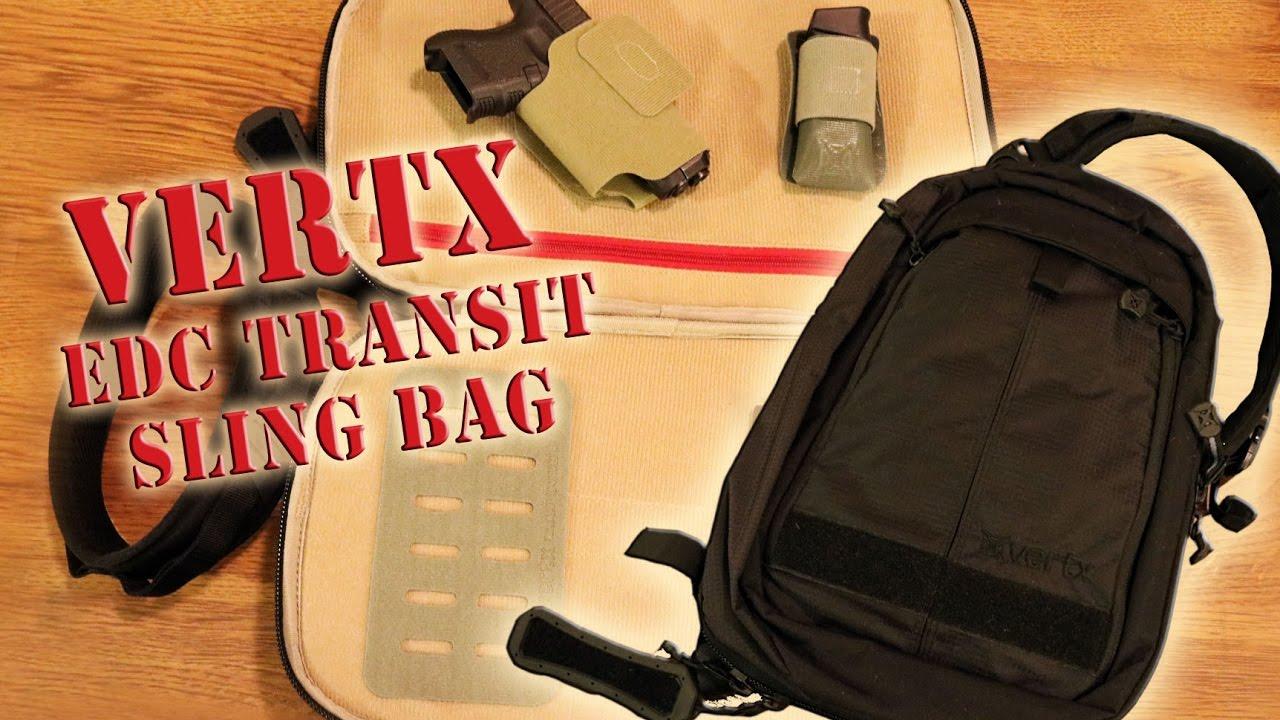ef6b58e55f88 Vertx EDC Transit Sling Bag