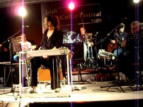 Sarah Jory playing at the Irish Steel Guitar Festival 2009
