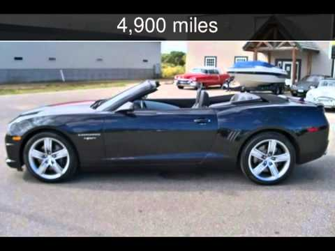 2012 Chevrolet Camaro 45th Anniversary Convertible 2ss Used Cars