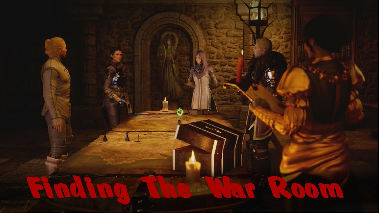 How To Get The War Table Room In Dragon Age Inquisition