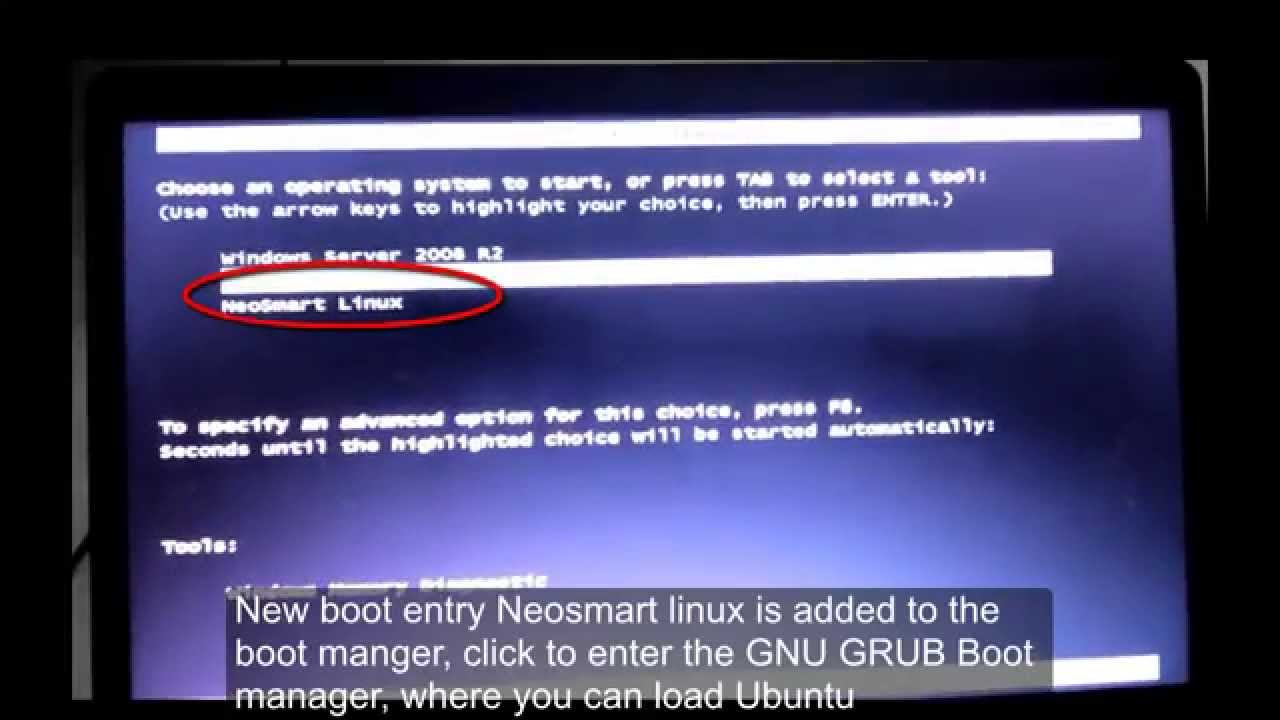Ubuntu boot menu not visible after installing Windows operating system/  Recover Ubuntu