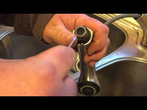 How To Fix Low Water Pressure From A NEW Pullout Kitchen Faucet