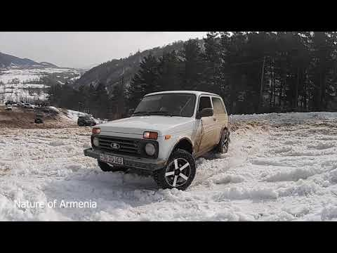 Битва внедорожников зимой: Lexus, BMW X5, УАЗ, Mitsubishi Pajero, Toyota Tundra, Нива и другие.