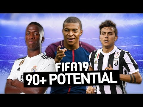 ALL PLAYERS WITH 90+ POTENTIAL IN FIFA 19 CAREER MODE!