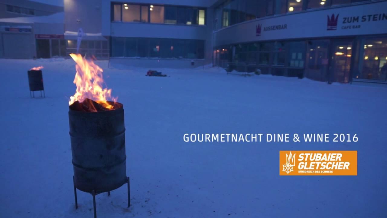 Dine & Wine Gourmetnacht am Stubaier Gletscher 2016