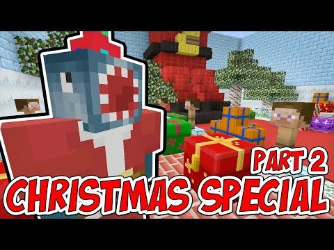 Minecraft Xbox - SANTA'S DEN! (Part 2) - Building Time! [#67]