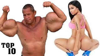 Top 10 Biggest Body Parts - Part 3