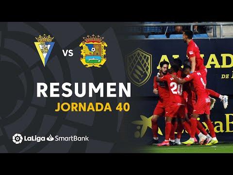 Cadiz CF Fuenlabrada Goals And Highlights