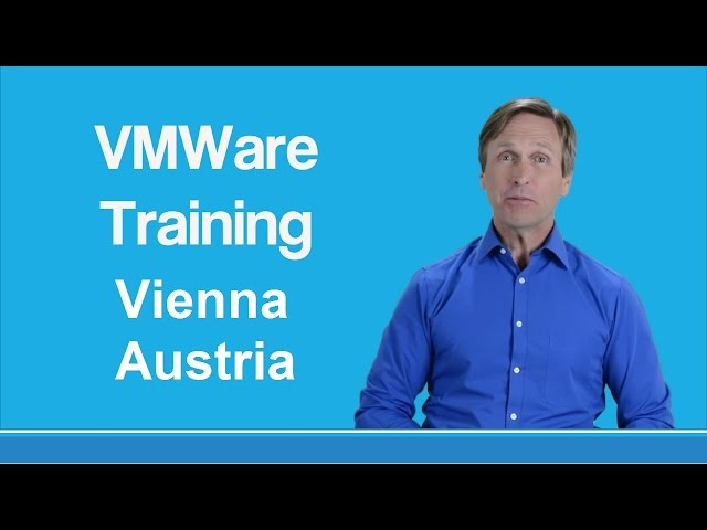 vmware training Vienna