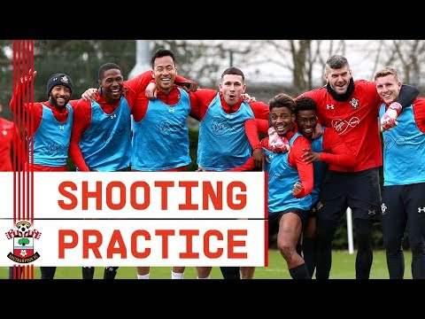 INSIDE TRAINING | Valery scores amazing goal as Southampton practise shooting