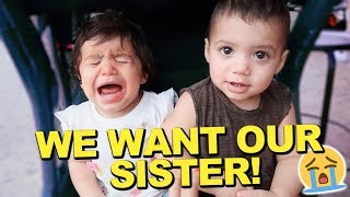 TWINS DON'T RECOGNIZE THEIR SISTER PENELOPE ANYMORE!!! *THIS IS BAD*