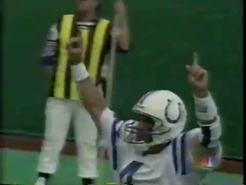 "October 1996 - ""Captain Comeback"" and the Colts Prep for Redskins"