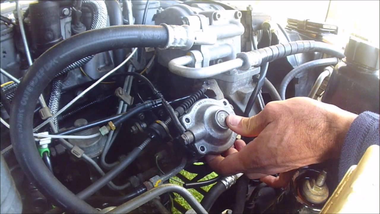 Part 2: Land Rover Discovery 300tdi Injector Pump Tweak