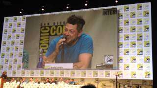 Andy Serkis Explains What Gollum Would Do at Comic-Con