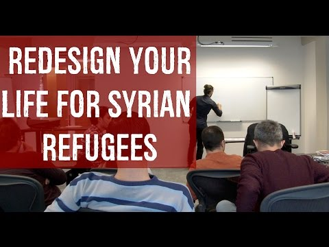 Syrian refugee? Watch this - Advice to design your Life - Speech Why Not 3 at Restart Rotterdam