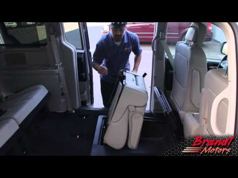Stow and Go Seats- Chrysler Town and Country, Dodge Grand Caravan - Brandl Media Minute- 09-29-11