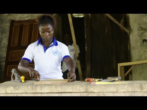 Promoting social stability through vocational training in Liberia's carpentry sector