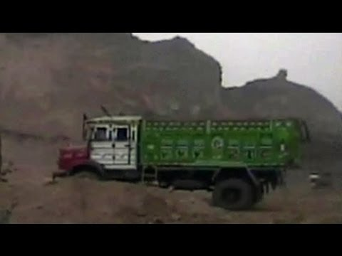 Illegal mining caught on camera: A hill on Aravalli destroyed