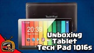 Unboxing Tablet Tech Pad 1016s (la tablet mas barata y de buena calidad) Kabuto TV