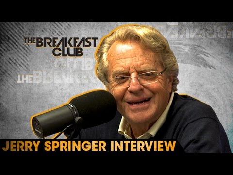 Jerry Springer Interview at The Breakfast Club - YouTube